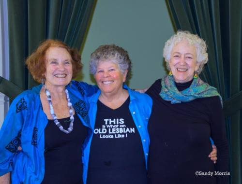 Corky Wick, Judith Masur, Ruth Hurvitz ©Sandy