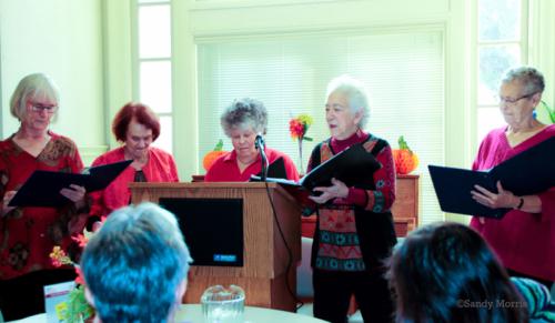 Mothertongue Readers at Lavendar Seniors 11/16/2018