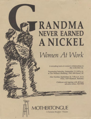grandma never earned a nickel